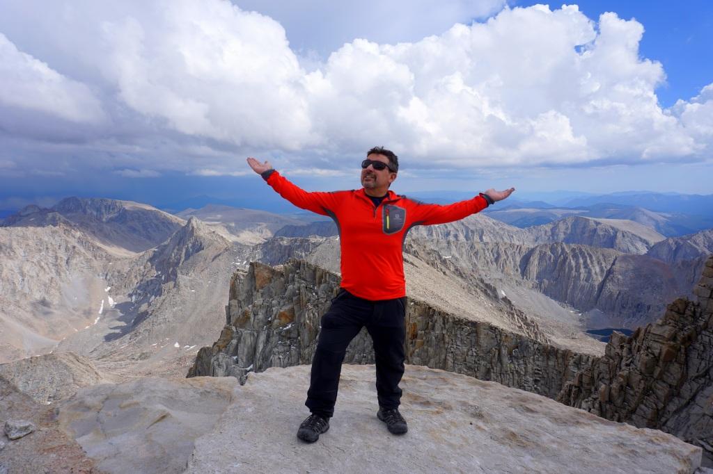 Tony at Mount Whitney Summit