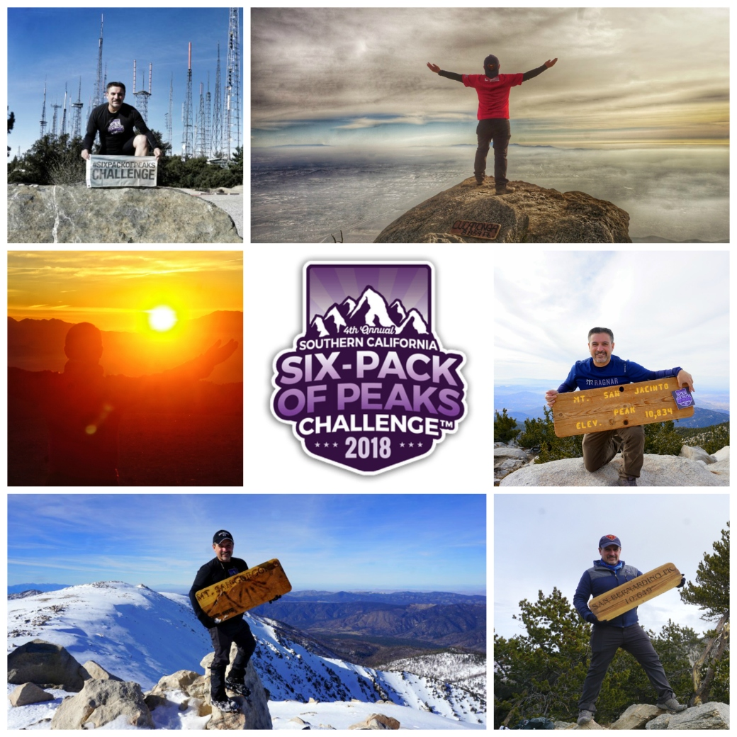 Six-Pack Of Peaks Challenge 2018 Completed